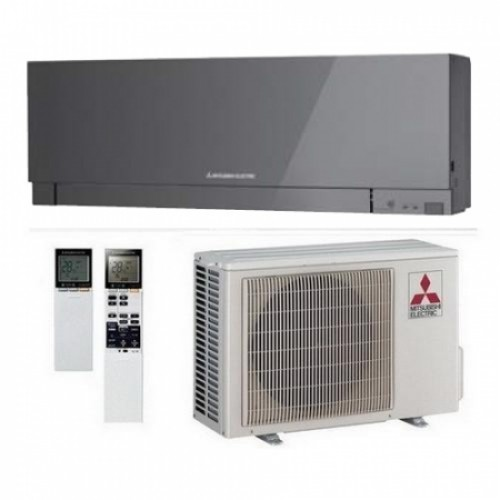 Кондиционер Mitsubishi Electric MSZ-EF25VE/MUZ-EF25VE Design Silver Монтаж + магистраль в Подарок!