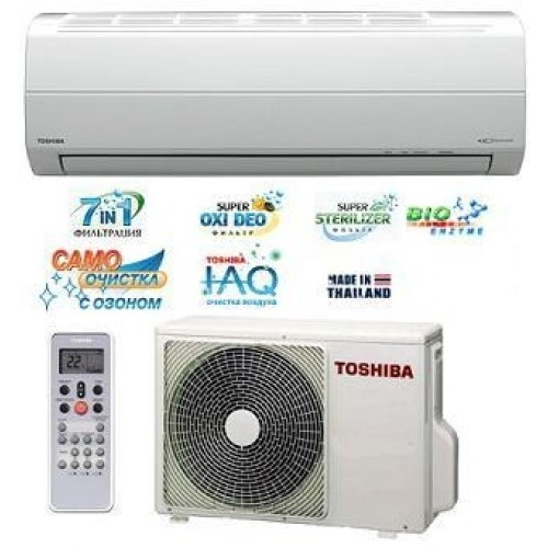 Кондиционер Toshiba RAS-13SKHP-ES2/13S2AH-ES2 Доставка   Монтаж   Кредит