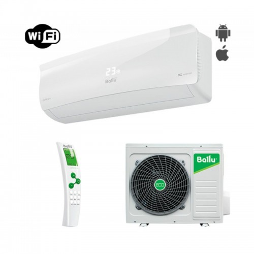 Кондиционер Ballu BSAI-12H N1 iGreen Inverter Wi-Fi Монтаж + магистраль в Подарок!