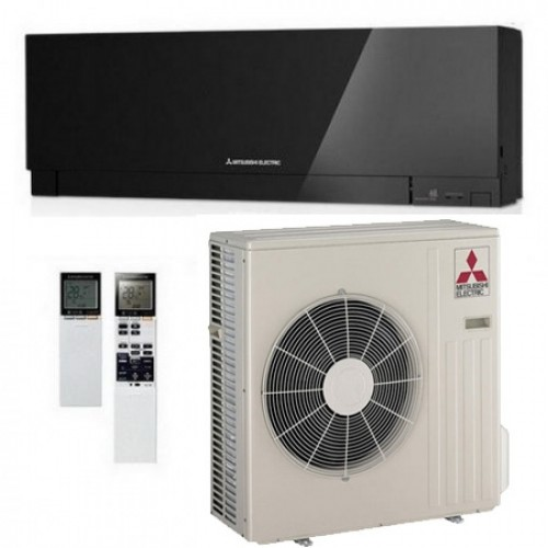 Кондиционер Mitsubishi Electric MSZ-EF50VE3B/MUZ-EF50VE Design Black Монтаж + магистраль в Подарок!