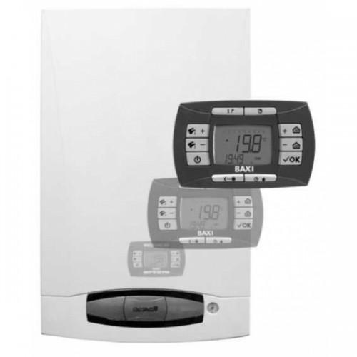 Котел газовый BAXI NUVOLA 3 COMFORT 240 Fi + датчик наружной температуры KHG 71406211 и дымоход в Подарок!