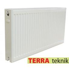 Стальной панельный радиатор Terra Teknik 22 тип 500х500 боковое подключение
